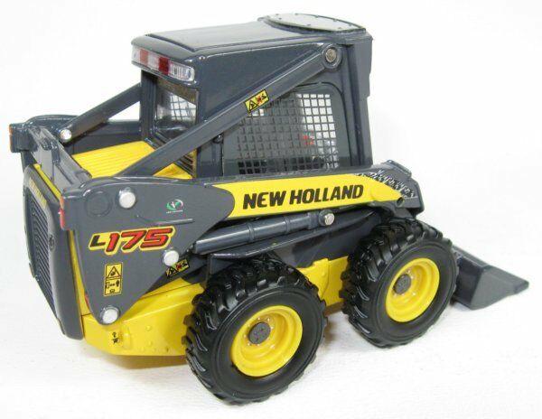 New Holland L175 Mini Pala Skid Loader - ROS - 00199 - 1:32