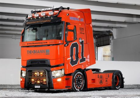 * PREORDINE – Q4-2021 * – Thomann – General Lee; RENAULT TRUCKS T HIGH 4X2 – WSI – 01-3527 – 1:50