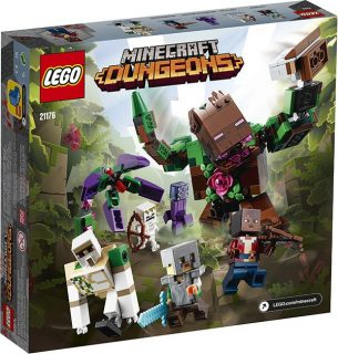 LEGO 21176 Minecraft – L'abominio della giungla