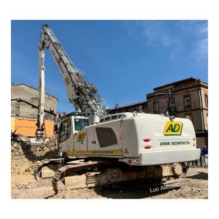 LIEBHERR R960 Demolition escavatore cingolato da demolizione Avenir Deconstruction – 1:50 Conrad 2205/14