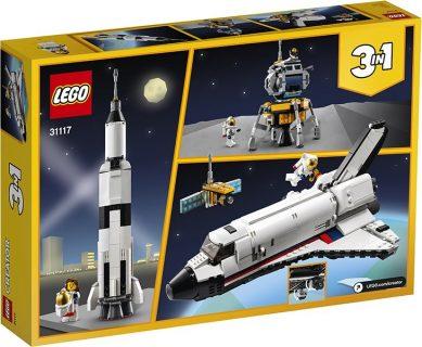 LEGO 31117 LEGO Creator – Avventura dello Space Shuttle