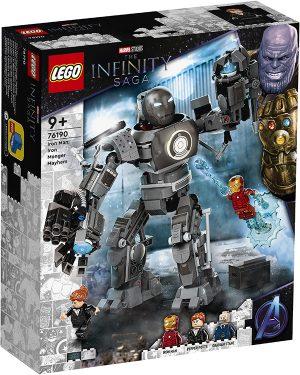 LEGO 76190 Super Heroes Marvel The Infinity Saga – Iron Man: Iron Monger scatena il caos