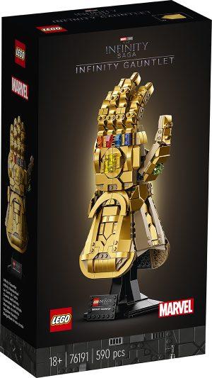 LEGO 76191 Super Heroes Marvel The Infinity Saga – Guanto dell'Infinito
