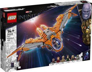 LEGO 76193 Super Heroes Marvel The Infinity Saga – L'astronave dei Guardiani