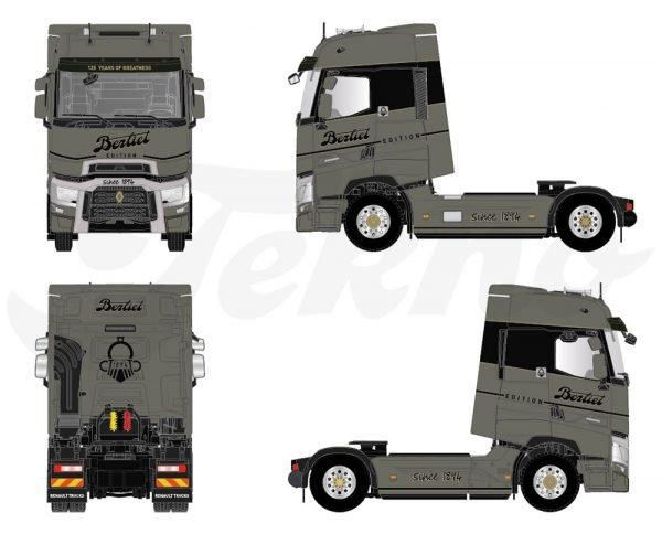 Renault T Berliet Edition - TEKNO - 82233 - 1:50