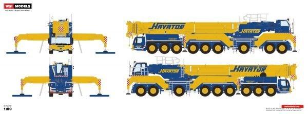 Havator; LIEBHERR LTM 1750 - WSI - 51-2086 - 1:50