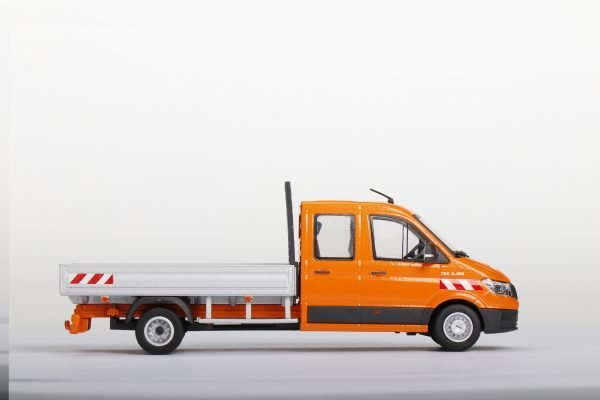 Camion pianale MAN TGE - CONRAD - 1616-0 - 1:50
