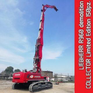LIEBHERR R960 Escavatore da demolizione – ARMOFER – 60 anniversario – 1:50 Conrad – 2205/15