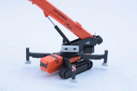Jekko SPX 1280 mini crawler crane – gru cingolata – 1:50 – Cgm Models
