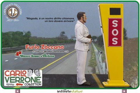 FURIO ON 131 PANORAMA – Carlo Verdone -1:18 – CLC MODEL – Infinite Statue – con personaggio incluso!!!