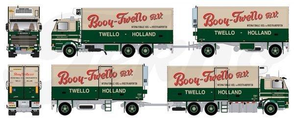 Booy Twello - SCANIA - TEKNO - 80911 - 1:50