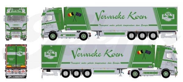 Vervaeke Koen - RENAULT - TEKNO - 82142 - 1:50