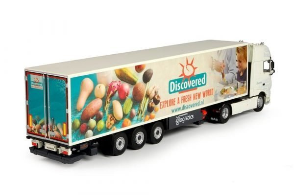 ABC Logistics - Discovered DAF XF Euro 6 Super Space Cab with reefer semitrailer - TEKNO - 69635 - 1:50