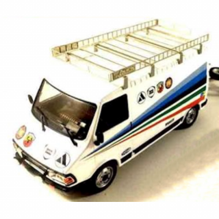 Fiat 242 Abarth, 1980 (Assistance) – IXOMODELS – 18RMC060XE – 1:18
