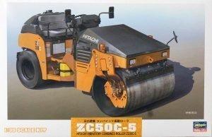 HITACHI – ZC50C-5 RULLO VIBRANTE MONOTAMBURO – SCHIACCIASASSI – STONE CRUSHER ROLL – HASEGAWA – 66002 – 1:35