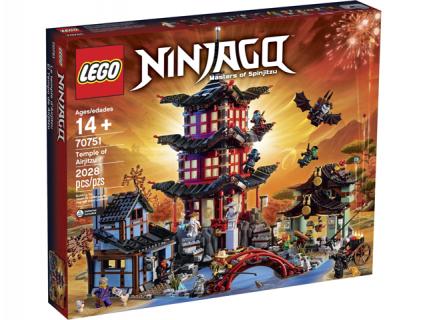 Lego 70751 Temple of Airjitzu – Ninjago
