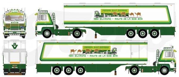 Daniel Morin - Espresso Golfo Persico - Scania - Tekno - 81660 - 1:50