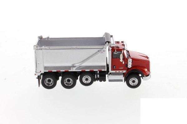International HX620 SB Dump Truck - DIECAST MASTERS - 71076 - 1:50
