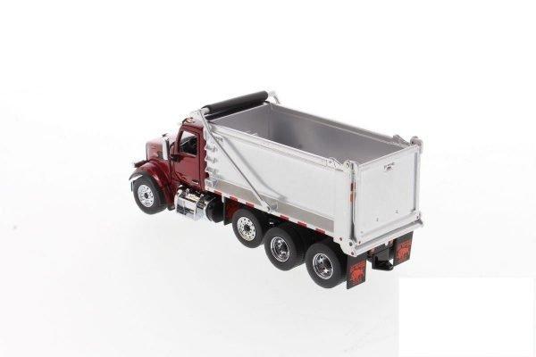 Peterbilt 567 SF OX Dump Truck - DIECAST MASTER - 71077 - 1:50