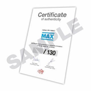 """Liebherr LTM 11200 9.1 – NZG – mobile crane """"Max Cranes"""" 732/32"""
