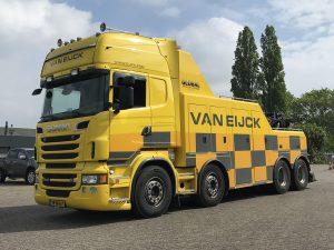 Van Eijck; SCANIA R6 TOPLINE 8X4 FALKOM – WSI – 01-3524 – 1:50