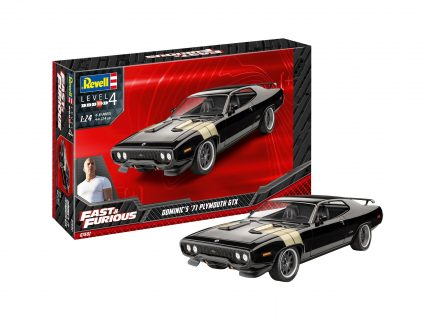 Fast & Furious – Dominic's 1971 Plymouth GTX – REVELL – 07692 – 1:24