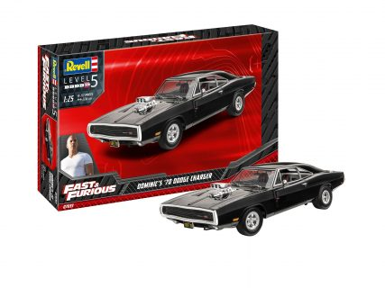 Fast & Furious – Dominic's 1970 Dodge Charger – REVELL – 07693 – 1:24