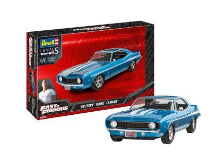Fast & Furious – 1969 Chevy Yenko Camaro – REVELL – 07694 – 1:24