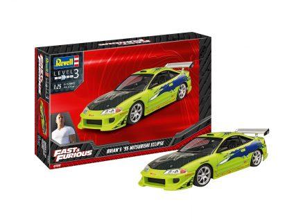 Fast & Furious – Brian's 1995 Mitsubishi Eclipse – REVELL – 07691 – 1:24