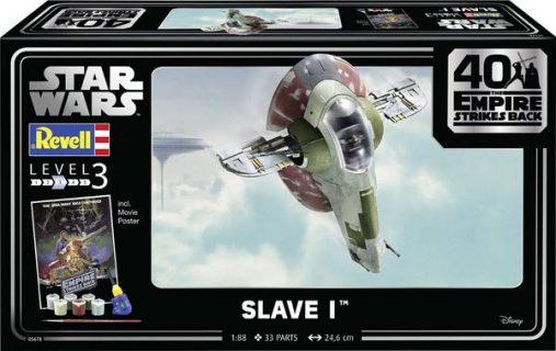 Revell 05678 Star Wars Slave I 40th Anniversary 1:87