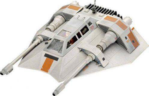 Revell 05679 Star Wars Snowspeeder 40th Anniversary 1:29