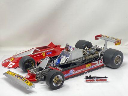 F1 Ferrari 312 T4 Gilles Villeneuve 1/8