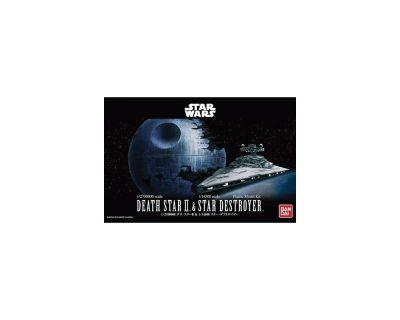 Death Star II & Star Destroyer – Bandai – v0230358 -1:4500