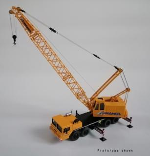 Autogru tralicciata DEMAG TC 140 – Schmidbauer – CGM Models – 1/50 – Edizione artigianale limitata e certificata – MADE IN ITALY