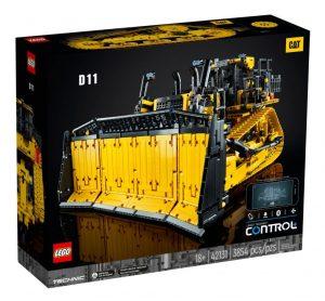 LEGO 42131 – TECHNIC – Bulldozer Cat® D11 controllato da app