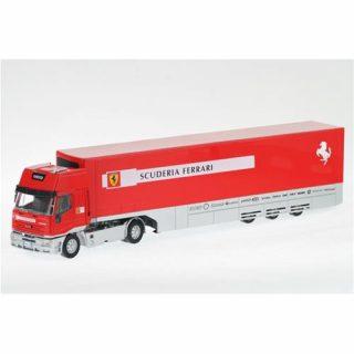 IVECO FIAT – CURSOR LD TRUCK FERRARI F1 CAR TRANSPORTER 5-ASSI 2002 – OLDCARS – 02002 – 1:43