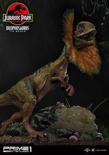 JURASSIC PARK DILOPHOSAURUS BONUS VER. – Prime 1 Studio – 74225