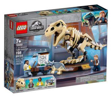 LEGO 76940 – La mostra del fossile di dinosauro T. Rex