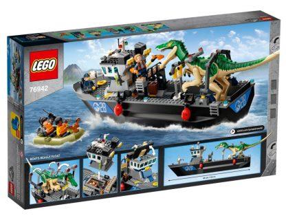 LEGO 76942 – Fuga sulla barca del dinosauro Baryonyx