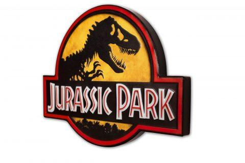 JURASSIC PARK METAL SIGN LOGO – Doctor Collector – 77596