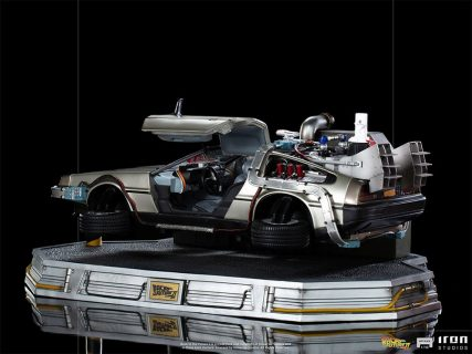 Ritorno al Futuro II – BTTF 2 – DELOREAN Regular – 1/10 – ART ST – 80611 – Iron Studios – ( no figure Doc Brown & Marty Mcfly )