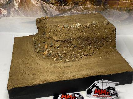 Diorama mini scavo e carico miniera su 2 livelli – 1/50 – 1/43 – (mezzi non inclusi)