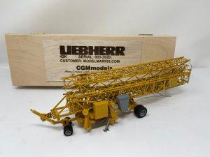 Liebherr 42K – CGM MODELS – serie limitata a 3 esemplari – Gru automontante a rotazione bassa – 1/50 – Resina artigianale
