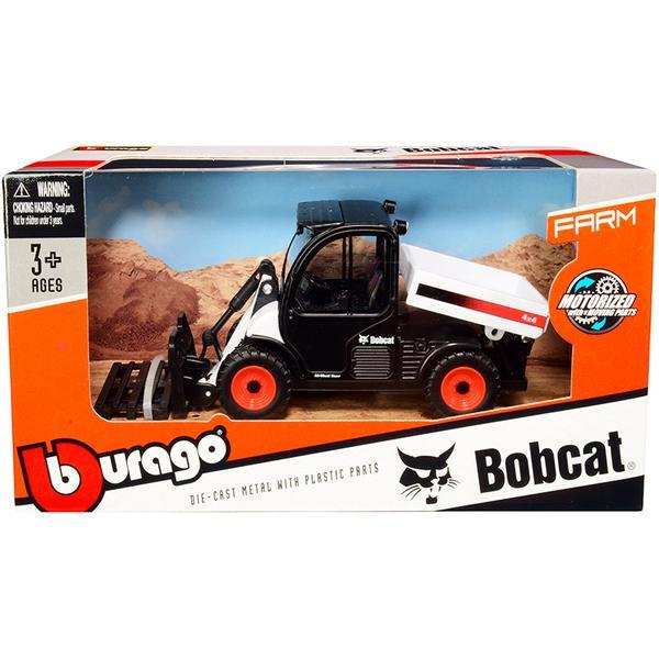 BURAGO - BOBCAT - 5600 TOOLCAT PICK-UP 2010 WITH PALLET FORK - 31806 - 1:50