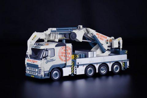Volvo FM500 200tons Erkin crane gru – Jan Van Dam -1:50 – IMCmodels – 31-0248